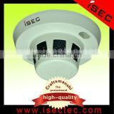 industrial aluminium alloy 1/3 sony ccd high focus hidden camera smoke detector(IC-H-C SERIES)