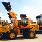 articulated powerful wheel bucket loader ZL25 for sale, tractor-loader with low price