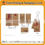 Jeans hang tag printing,Kraft paper hang tag wholesale