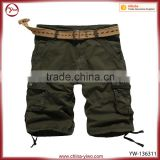 Top quality summer baggy mens cargo cotton shorts