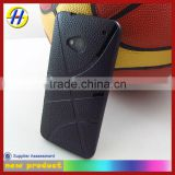 Soft TPU GEL Case Cover basketball Skin for htc 1 case in black