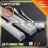 High class LED T5 Double tube with SAA TUV UL t5 led replacement lamp tube                                                                         Quality Choice