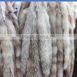 Pure Handmade Luxury Natural raccoon Fur collar Trim Diy real fur