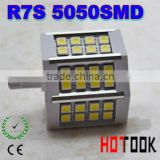 78mm R7S 5W 24leds SMD 5050 led bulbs light led replacement for Halogen Flood Lamp 85~265V CE ROHS