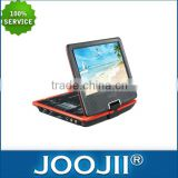 Portable dvd player with rechargeable battery pack