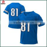 New design hot sale sublimated american football uniforms