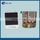 china wholesale LCD touch screen and digitizer assembly with frame for Blackberry N-Series/Dev Alpha C Q10 white
