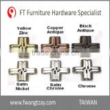 Made In Taiwan	Excellent Quality 180 Degree	44 mm Zinc Alloy Firm Furniture Wooden Box Hidden Hinge
