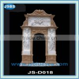 White Marble Decorative Indian Main Door Designs