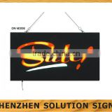customized bar open led sign for advertising and promotion