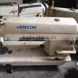 China Mixed Brand Used Second Hand JACK 8500/5550/8700 Single Needle Industrial Sewing Machine
