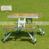 Portable Bamboo Picnic Folding Table