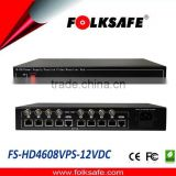 CCTV UTP model support 8 ch supply power to TVI AHD CVI CVBS camera
