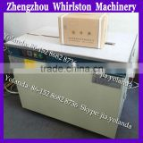 PP strapping machine semi-automatic for carton box,books etc/carton box strapping machine