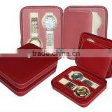 Gelivable Passionate Bright Red Leather Watch Case 2013 Holiday Gift