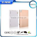 New arrival products 1000mah power bank credit card size micro usb battery charger