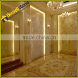 China white onyx steinplatten cut to size polished onyx tiles for interior walls, villa project onyx flooring