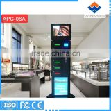 RFID operated Cell station, locker emergency mobile phone charging station for restaurant, mobile phone lockers APC-06A