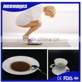 china supply directly instant black coffee slimming coffee ground coffee