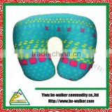 Beads foldable double use pillows travel pillows