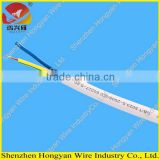 300/300v PVC sheathed PVC insulated 3 cores flexible flat cable