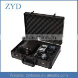 "Aluminium portable travel case for camera digital products , 16.5"" x 11""x 4.75"""