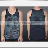 custom men gym clothing/gym singlets stringer                                                                         Quality Choice