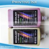 DX4 DX5 DX7 Mimaki Roland Mutoh Digital Printing Galaxy ECO Solvent Printing Ink For DX5