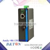 10/100M RJ45 Port Industrial Single Fiber Simplex 20KM Unmanaged Ethernet Media Converter