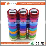 Colorful Best Price Promotional Gift Advertising External Power Bank, High Quality 2000mah Portable