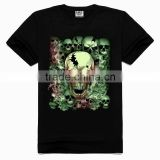OEM 3d Printing Factory High quality old skull t-shirt, man shirt, latest shirt designs for men