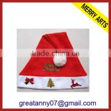 2015 new design Alibaba China New Hot products 2014 red christmas novelty baby hat with high quality