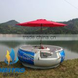 HEITRO coastal city yantai branded water sport park PE material BBQ donut boat (6 persons type)