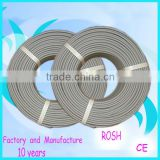 high quality 2 core doubled PVC insulation CCA conductor telephone cable,2 core and 4 core telephone wire
