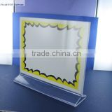 Acrylic table stand display or plastic frame table stand display or table stand display for advertisement