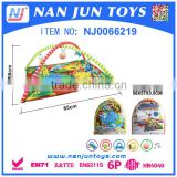 Top selling fashion cheap children baby play mat custom cute soft plush baby play mat with sides