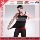 Bamboo Fiber Chest Binder Fat Wrap Men Tummy Tuck Underwear