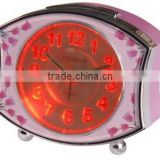 talking alarm clock with LED light