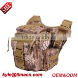 Durable camera camo cycling bike messenger bag for stock sale