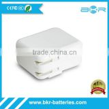 Rapid Charging 3 Port 20W USB AC Adapter Uk Plug Wall Charger for Ipad
