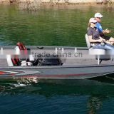 19ft side contral aluminum row boat for sale