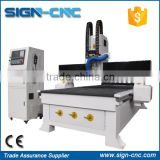 cheap price cnc router 1325 / Alibaba wooden furniture doors design engraving ATC cnc router