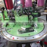 Socks dial linking machine with cutting system