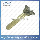 custom antique old color butterfly metal bookmark                                                                         Quality Choice