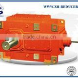 B series industry foot mounted angle shaft bevel helical gearbox