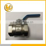 "2 PACK New BRASS 1"" BALL VALVE FPT X FPT FULL FLOW GATE VALVE FOR COMPRESSOR WATER OIL GAS RATED 600 WOG PLUMBING PIPING"