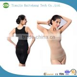 Women plus size sexy transparent bodysuit control slip body shaper