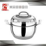 stainless steel new tempered glass lids for kitchenware