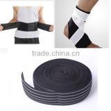 Adjustable breathable elastic band for medical elastic waist belt