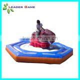 Happy inflatable mechanical bull for adults and kids